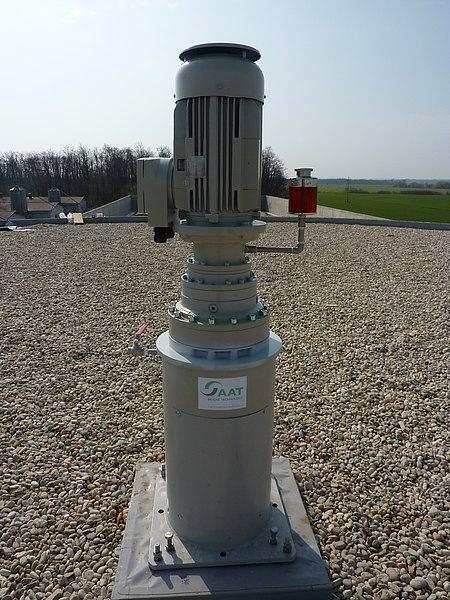 Vertical Shaft Agitator Aat Abwasser Und Abfalltechnik Gmbh